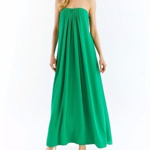Nicole Miller New York Strapless Souffle' Gown